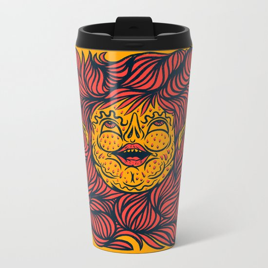 BUTTER GIRL Metal Travel Mug