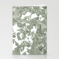 leaf Stationery Cards featuring Leaf  by Maethawee Chiraphong