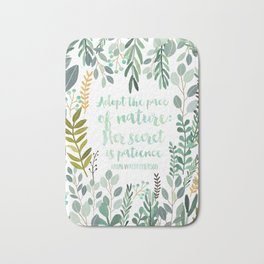 Emerson Quote Bath Mat