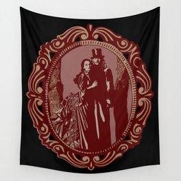 Dracula & Mina Wall Tapestry