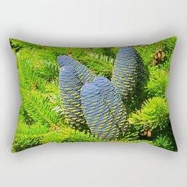 Korean Fir Cones Rectangular Pillow
