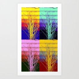 A Design for All Seasons Art Print