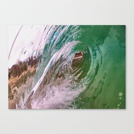 Dual Lips Canvas Print