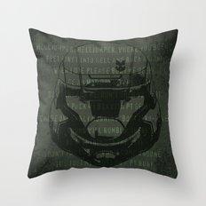 Gamer, yo Throw Pillow