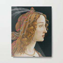 Botticelli Art Print Metal Print