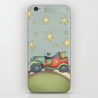 boy iPhone & iPod Skins featuring Boy by Catru