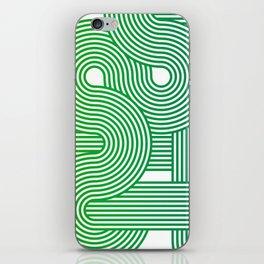 Curvy Lines iPhone Skin