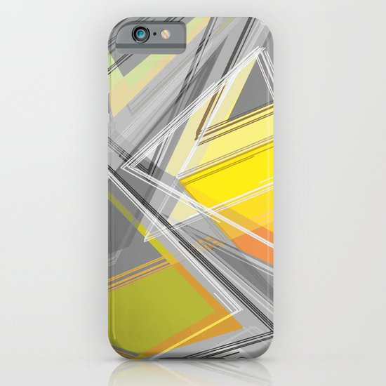 ∆Yellow iPhone & iPod Case