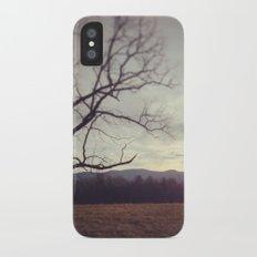 Golden Mountains iPhone X Slim Case