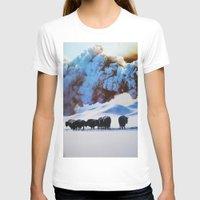 buffalo T-shirts featuring Buffalo Blast by John Turck