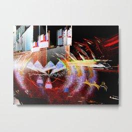 Reverb Metal Print