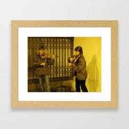 BUSKERS Framed Art Print