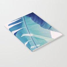 Banana Leaf Blue Notebook