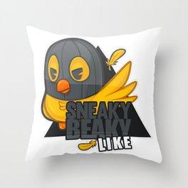 "Cs:go : sticker ""sneaky beaky like"" Throw Pillow"