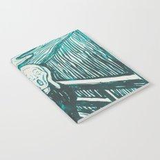 The Scream's Haze (light blue) Notebook