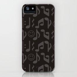 Happy Music iPhone Case