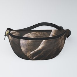 Wooden Woman Fanny Pack
