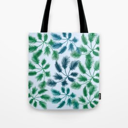 leaves on a sunny day Tote Bag