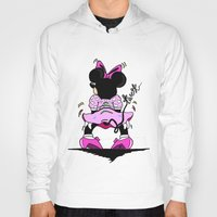 minnie mouse Hoodies featuring Minnie Mouse Gon Twerk Today by Shanice SB
