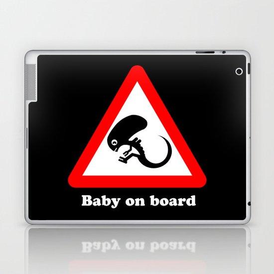 Baby on board Laptop & iPad Skin