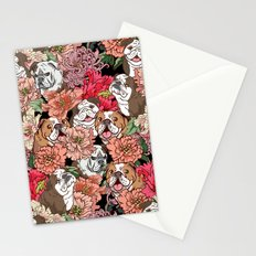 Because English Bulldog Stationery Cards