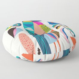 Mr Kookaburra Floor Pillow