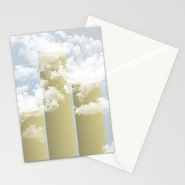 Chaminés nas Nuvens Stationery Cards