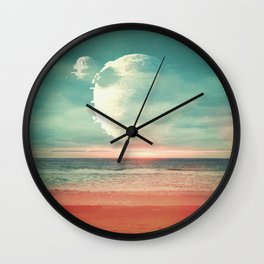 Ghost Planet Wall Clock