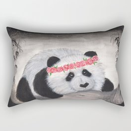 Kensey bear-watercolor Rectangular Pillow