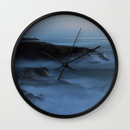 Ocean Beach San Diego Ca, Sunset Wall Clock