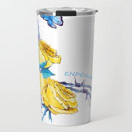 Ribbon | Endometriosis awareness Travel Mug