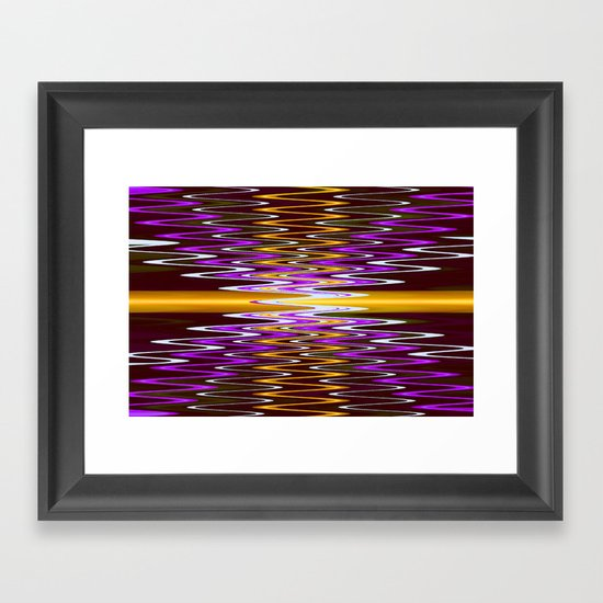 Electron  Framed Art Print
