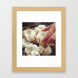 Almond Macaroons Framed Art Print