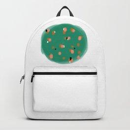 Green Speckles Backpack