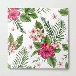 Tropical Flowers vol.3 Metal Print