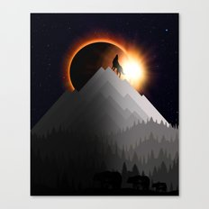WTF ECLIPSE Canvas Print