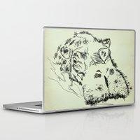 hippo Laptop & iPad Skins featuring Hippo by Julia Kisselmann
