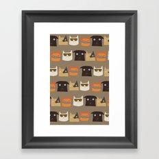 KittyKey Framed Art Print