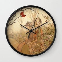 Jane Austen, Mansfield Park - the Garden Wall Clock