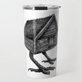 Baba Yaga's Hut Travel Mug