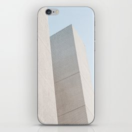 Abstract architecture photography iPhone Skin