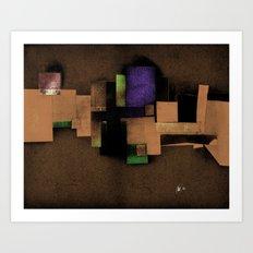 collage... Art Print