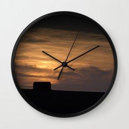 Pillbox Sunset Wall Clock