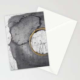 Golden circle1 Stationery Cards