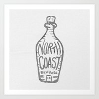 North Coast Bev. Co Art Print