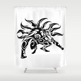 Kurama Tribal Shower Curtain