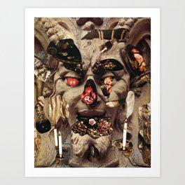 Glutton Art Print