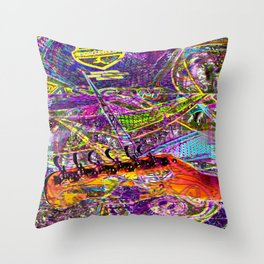Exposition On Chalkie, Smarty Pants BS... Throw Pillow