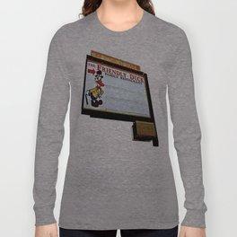 Friendly Duck Long Sleeve T-shirt