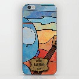 Laurino from Venus (Bass) iPhone Skin